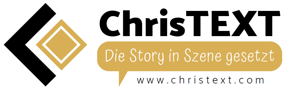 ChrisTEXT Logo quer