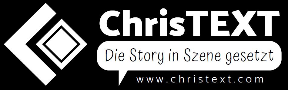 ChrisTEXT Logo quer sw
