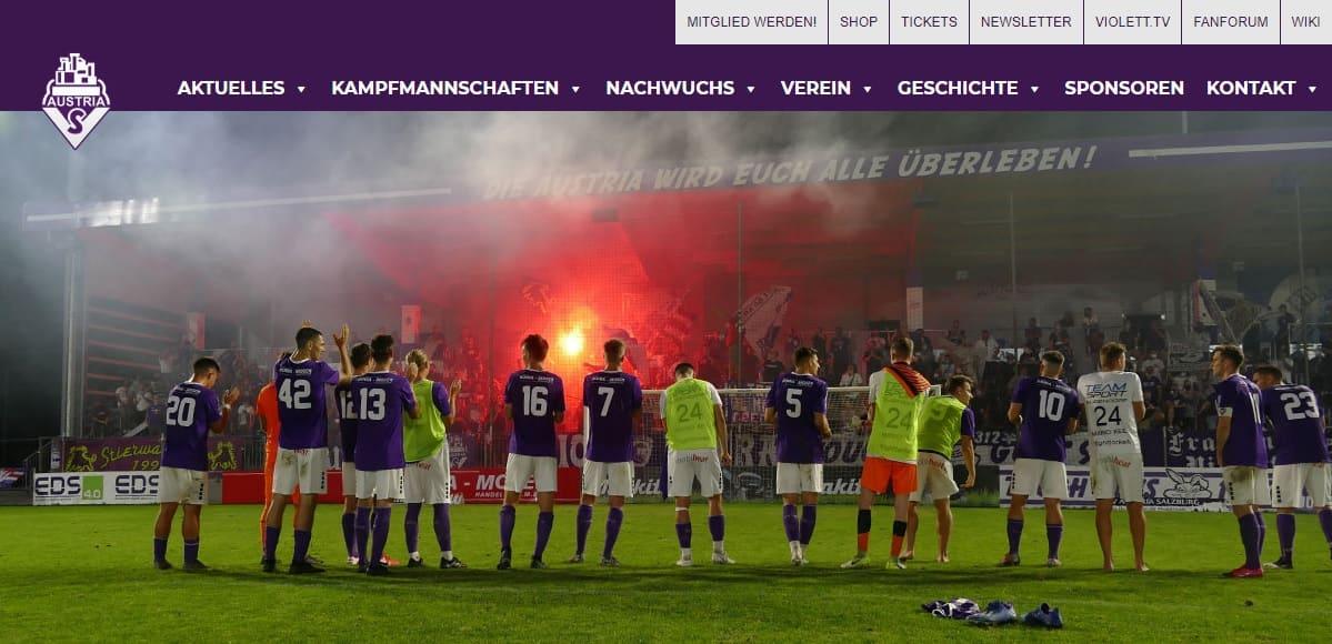 Austria Salzburg Homepage