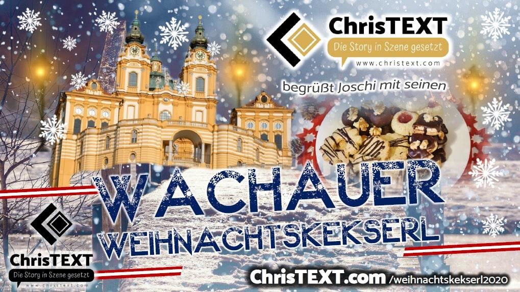 Wachauer Weihnachtskekserl Kampagne 2020