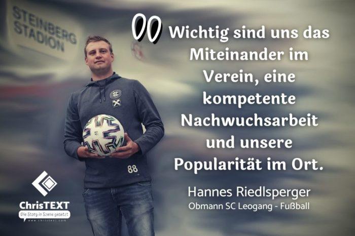 Hannes Riedlsperger vom SC Leogang